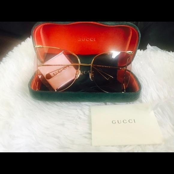 de79c1ee599 Gucci oversized round frames